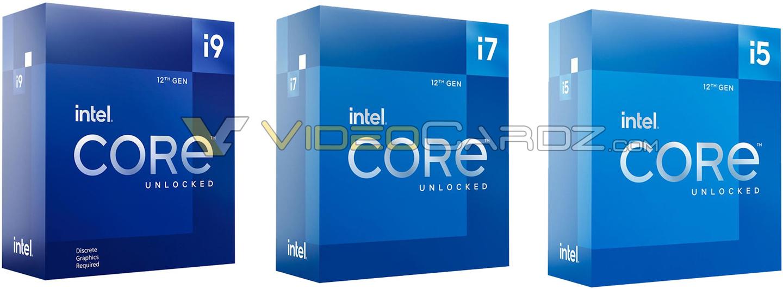 Intel Core 12000シリーズパッケージ