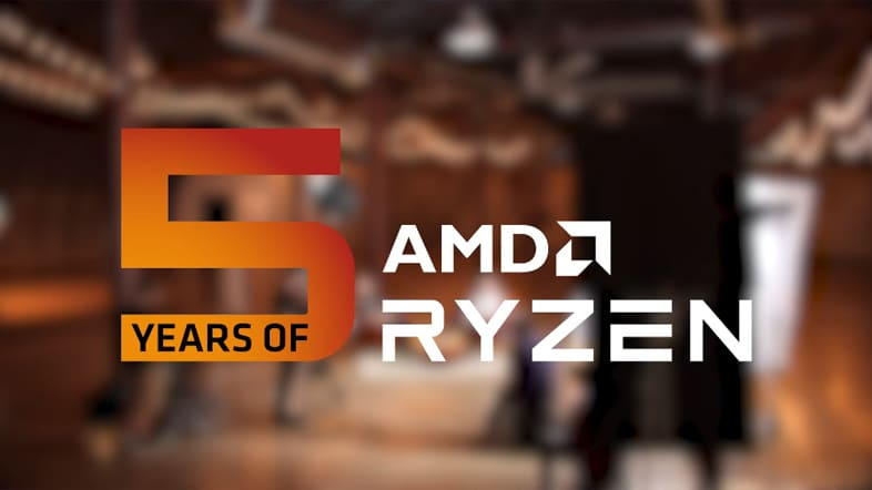 AMD Ryzen 5周年