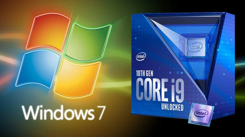 Windows7 & Core i9-10900K